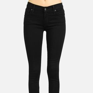 James Jeans Twiggy Skinny Jeans (Black)